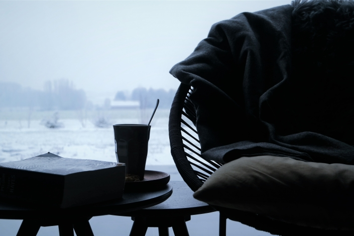 Lekkere koffie, een mooi uitzicht, ... Wat wil je nog meer?